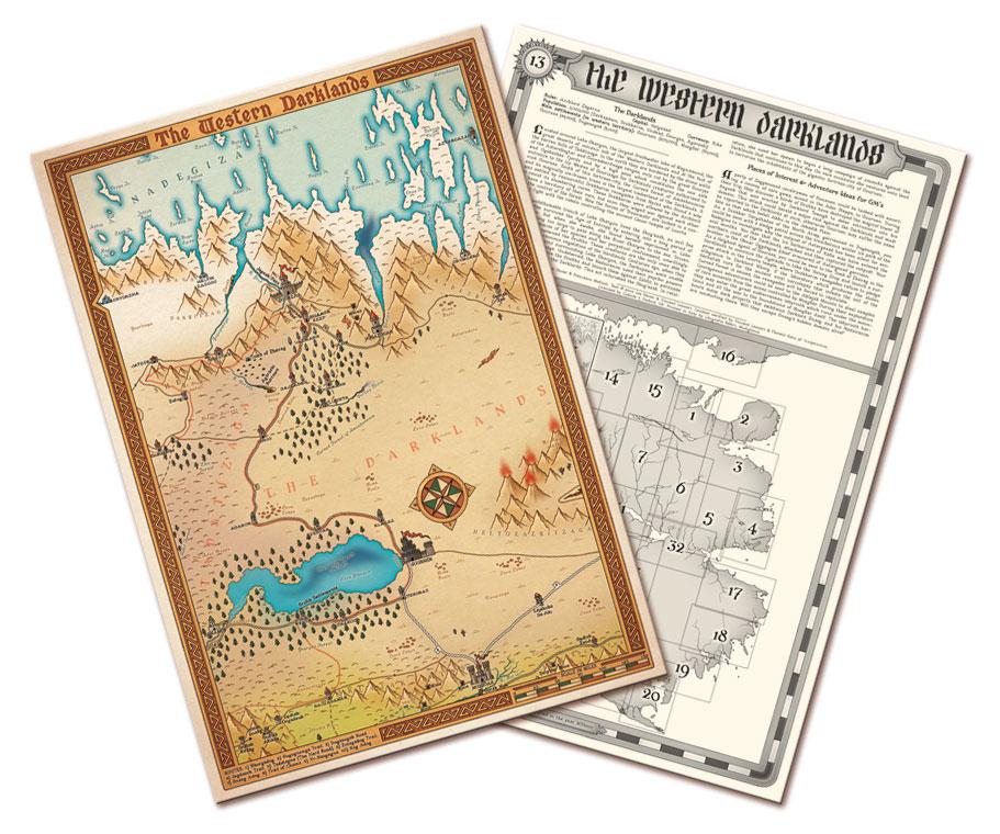 Les Cartes du Magnamund – par Joe Dever et Francesco Mattioli, relues par Scriptarium
