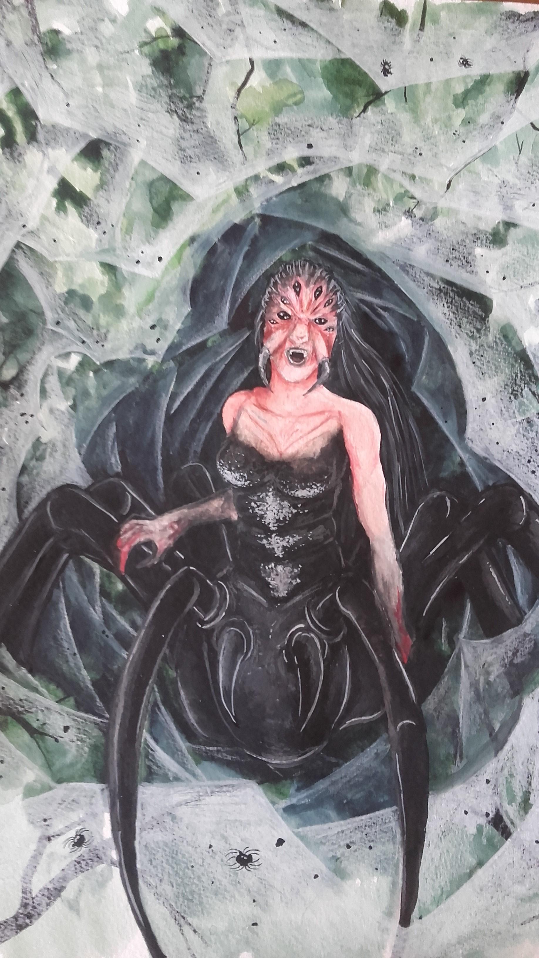 Femme araignee
